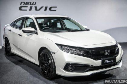 Honda Civic 2020 trình làng tại Malaysia với giá từ 648 triệu đồng