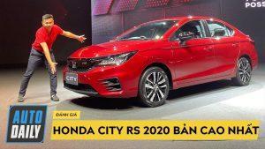 Honda City RS 2020 bản cao cấp nhất được trang bị những gì